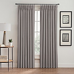 Vertical Pleat Pinch Pleat Room-Darkening Window Curtain Panel