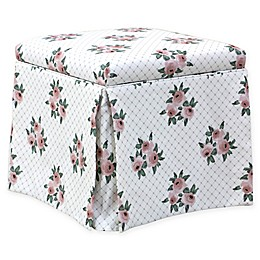 Skyline Furniture Storage Ottoman in Pink
