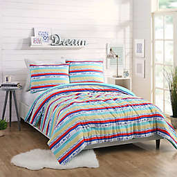 Maker's Collective Today Stripe Full/Queen Comforter Set