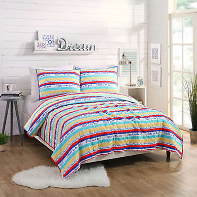 Maker's Collective Today Stripe Quilt Set