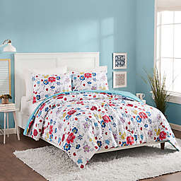 Maker's Collective Flower Patch Reversible Comforter Set