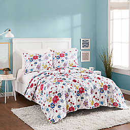 Maker's Collective Flower Patch Reversible Quilt Set
