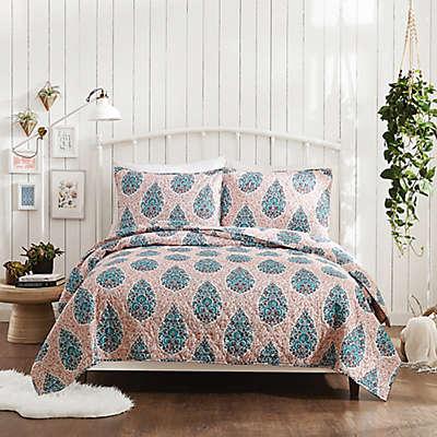 Jessica Simpson Ramos Floral Quilt Set