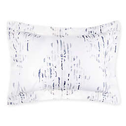 Frette At Home Seal Pillow Sham in Sapphire