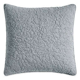 DKNY Speckled Jersey European Pillow Sham in Grey