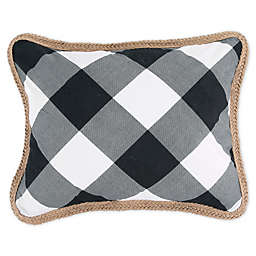 Bee & Willow™ Home Sawyer Oblong Throw Pillow in Black