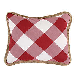 Bee & Willow™ Home Sawyer Oblong Throw Pillow in Red
