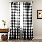 Bee & Willow™ Home Sawyer 84-Inch Rod Pocket Window Curtain Panel in Black