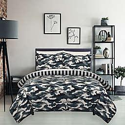 Camo Reversible Comforter Set