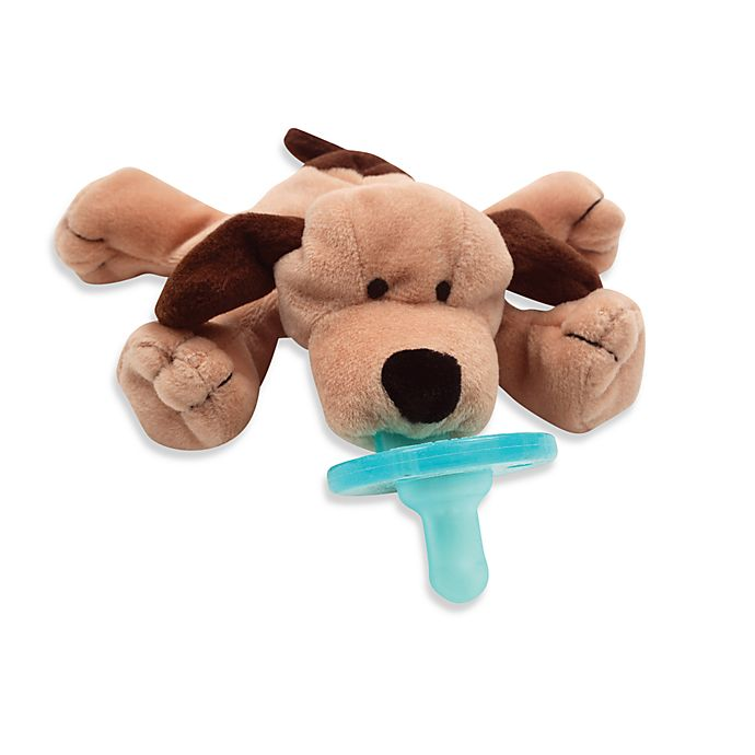 Alternate image 1 for WubbaNub™ Brown Puppy Infant Pacifier