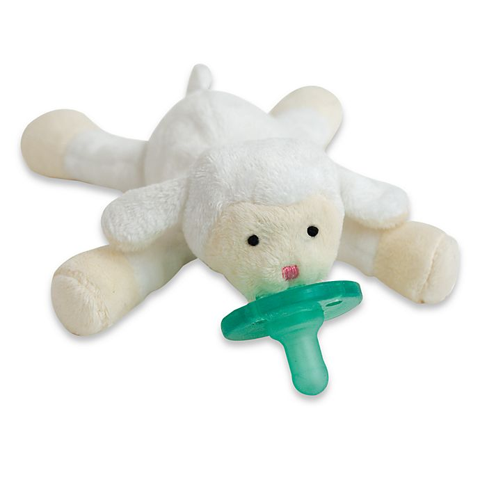 Alternate image 1 for WubbaNub™ Lil' Lamb Infant Pacifier