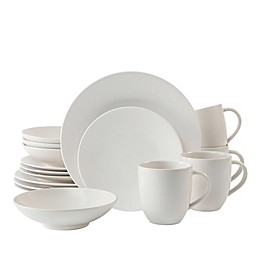 Neil Lane™ by Fortessa® Trilliant 16-Piece Dinnerware Set in Ivory