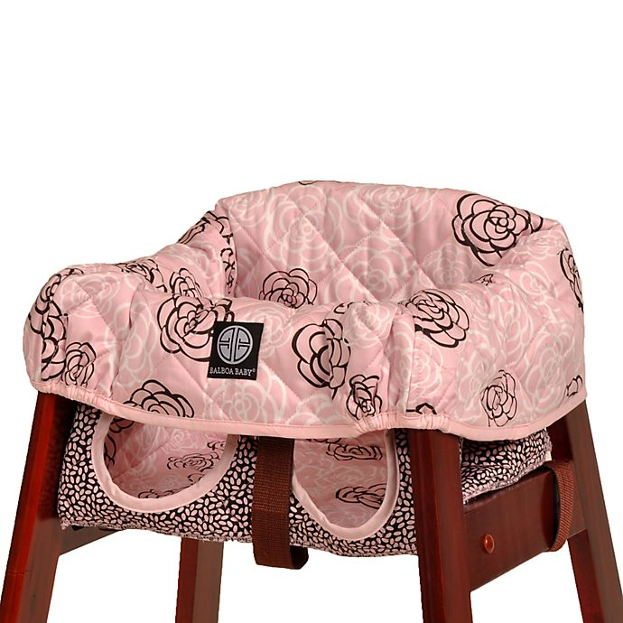 Miraculous Balboa Baby High Chair Cover In Pink Camellia Buybuy Baby Spiritservingveterans Wood Chair Design Ideas Spiritservingveteransorg