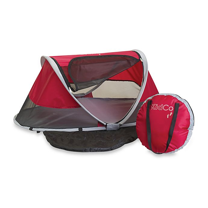 Alternate image 1 for KidCo® PeaPod Infant Travel Bed in Cranberry