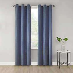 SALT™ Sandspoint 2-Pack 84-Inch Grommet Room Darkening Window Curtain Panels in Indigo