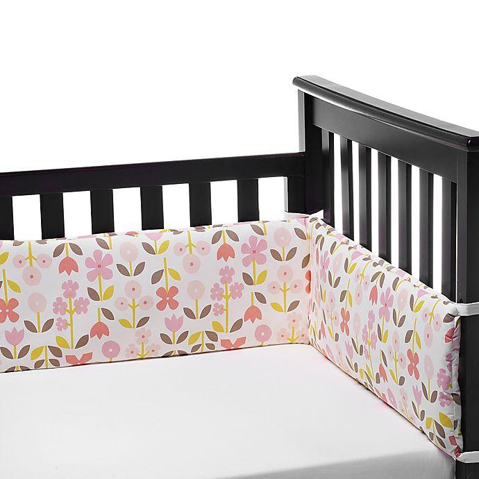 DwellStudio® Rosette Blossom Crib Bumper