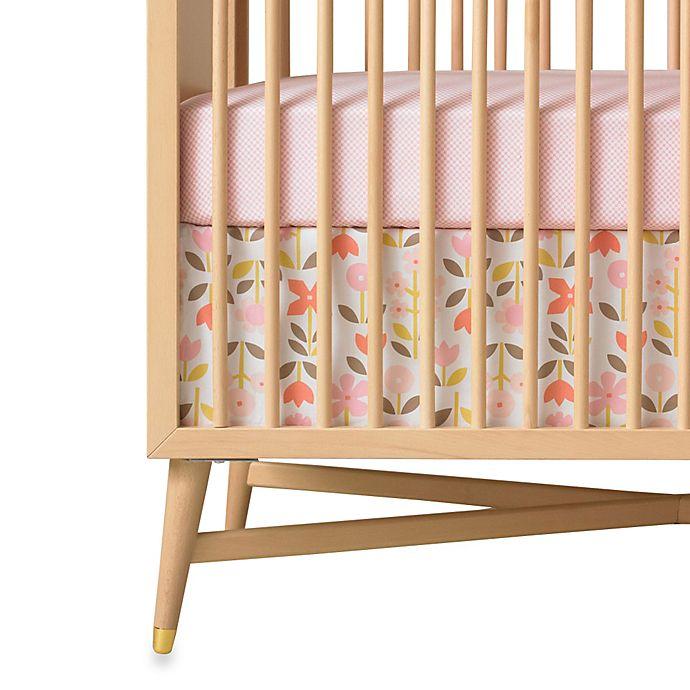 DwellStudio® RoSette Blossom Crib Skirt