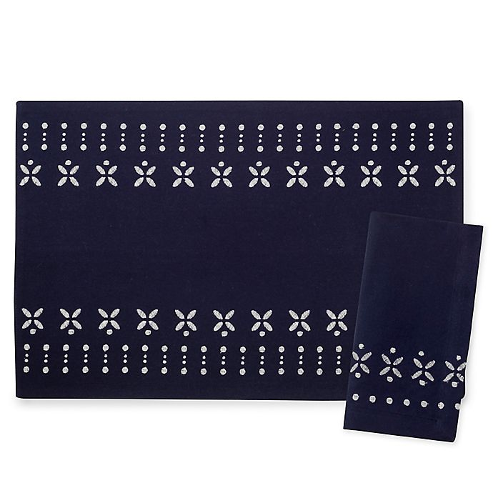 Alternate image 1 for kate spade new york Willow Court Table Linen Collection