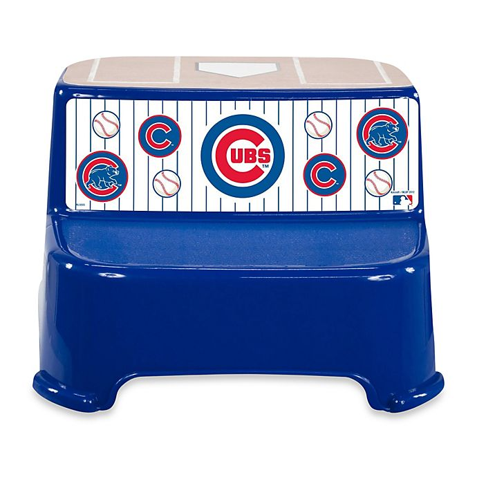 Buy Kolcraft 174 Mlb Chicago Cubs Step Stool From Bed Bath