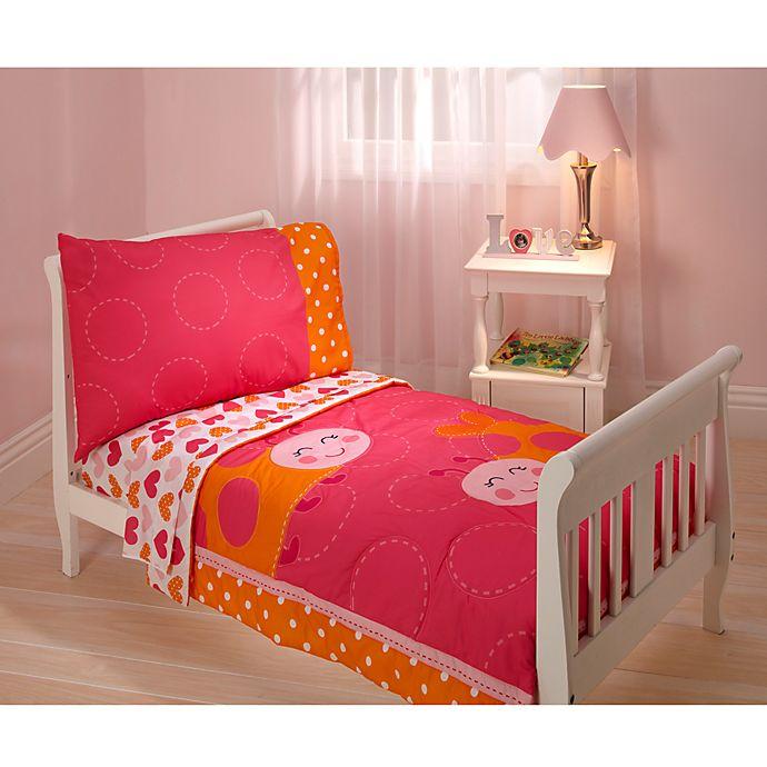 Carter's® Ladybug 4-Piece Toddler Bedding Set   Bed Bath ...
