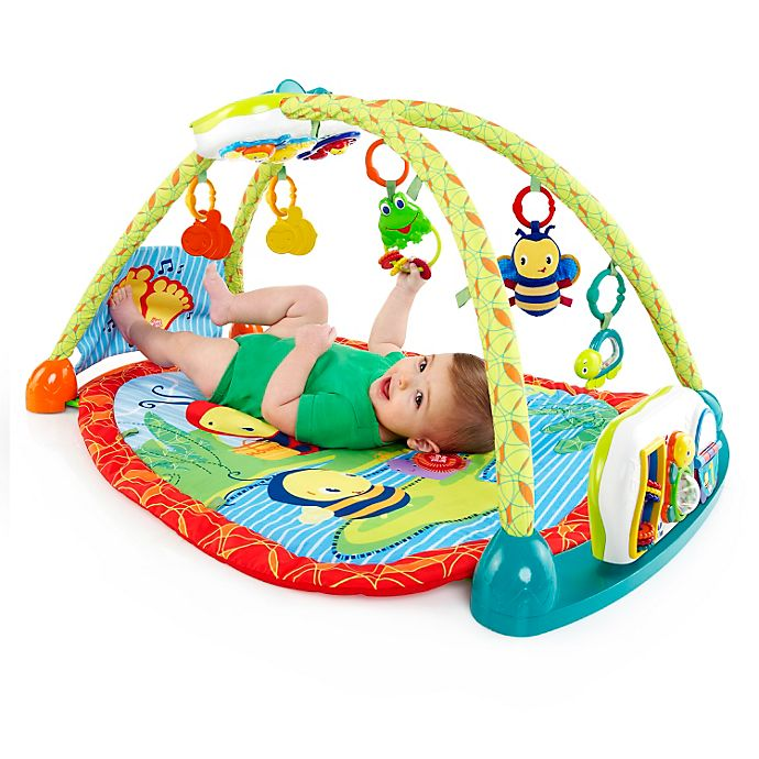 bright starts 2 in 1 convertme activity table gym bed bath beyond. Black Bedroom Furniture Sets. Home Design Ideas