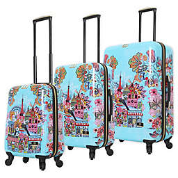 Halina Car Pintos Oh Lala Hardside Spinner Luggage Collection