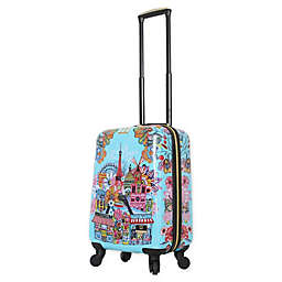 Halina Car Pintos Oh Lala 20-Inch Hardside Spinner Carry On Luggage