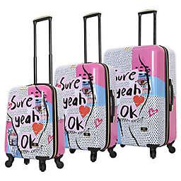 Halina Nikki Chu Sure Hardside Spinner Luggage Collection