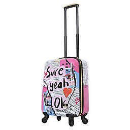 Halina Nikki Chu Sure 20-Inch Hardside Spinner Carry On Luggage