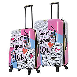 Halina Nikki Chu Sure Hardside Spinner Checked Luggage