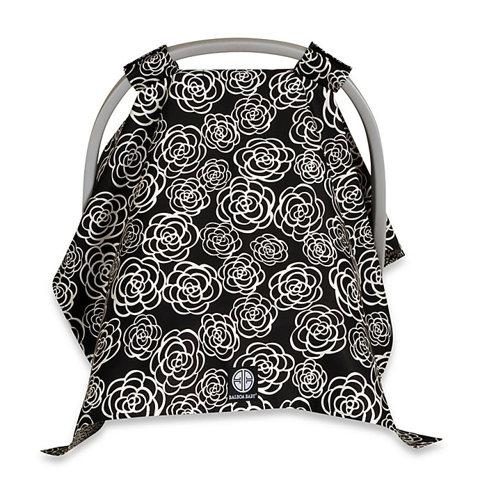 Balboa Baby Car Seat Canopy In Black White Camellia Buybuy Baby