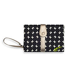JJ Cole® Changing Clutch in Silver Drop