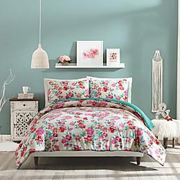 Jessica Simpson Floral Trellis Reversible Comforter Set