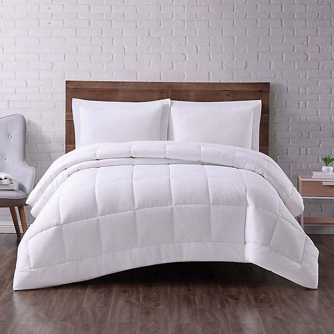 Alternate image 1 for Truly Soft® Everyday Seersucker Comforter