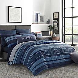 Nautica® Longpoint King Comforter Set in Navy
