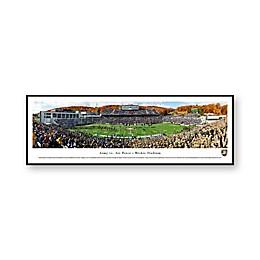 United States Military Academy Panorama Stadium Print with Standard Frame