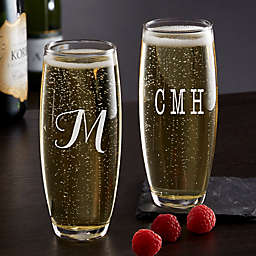 Classic Celebrations Stemless Champagne Glass