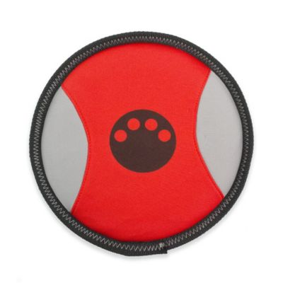Active-Life Floating Frisbee Dog Chew Toy in Red/Black
