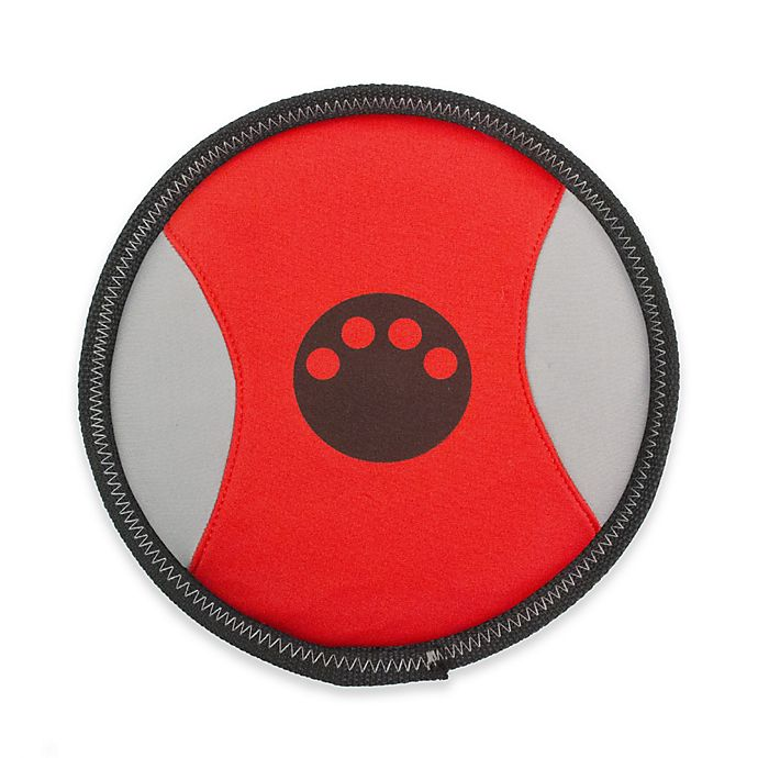 Alternate image 1 for Active-Life Floating Frisbee Dog Chew Toy in Red/Black
