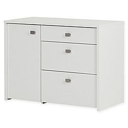 South Shore Interface Storage Unit with File Drawer