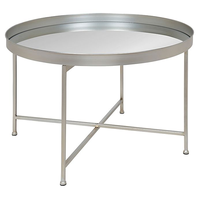 Alternate image 1 for Kate and Laurel Celia Coffee Table in Silver
