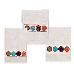 Dot Swirl Bath Towel Collection