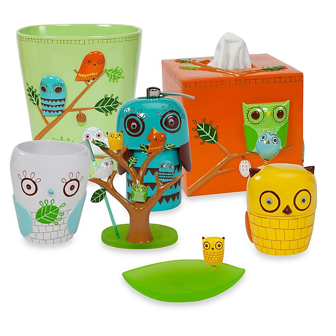 Alternate image 1 for Creative Bath Give A Hoot Resin Toothbrush Holder