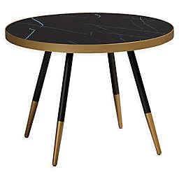 Baxton Studio Ness Round Coffee Table
