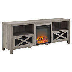 Forest Gate TV Stand with Electric Fireplace