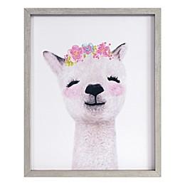 Marmalade Baby Llama 16-Inch x 20-Inch Framed Wall Art