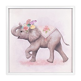 Marmalade™ Boho Elephant 24-Inch Square Framed Canvas Wall Art