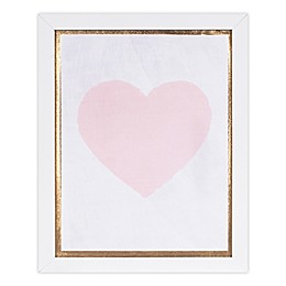 Marmalade™ Pink Heart 11-Inch x 14-Inch Framed Canvas Wall Art