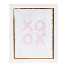 Marmalade™ Pink XOXO 11-Inch x 14-Inch Framed Canvas Wall Art