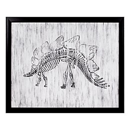 Marmalade™ Stegosaurus Framed Canvas Wall Art